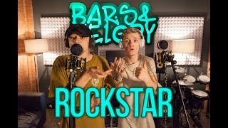 image of Post Malone feat. 21 savage - Rockstar || Bars and Melody Cover