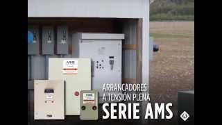 Aplicaciones de los Arrancadores a Tensión Plena Serie AMS