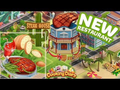 Cooking Diary/New Restaurant- Welcome To The Steak House/ Part 9