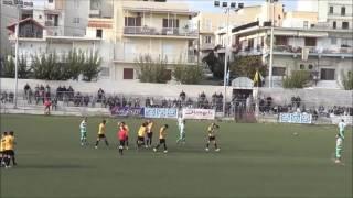 Τριγλία Ραφήνας - Ρόδος 2-2: Τα γκολ του αγώνα