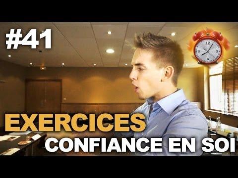 comment gagner confiance en soi exercices