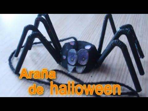0 Manualidades para Halloween, como hacer una araña