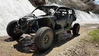 10. CAN AM MAVERICK X3 X RS MAX AVALANCHE DRIFT TRAIL