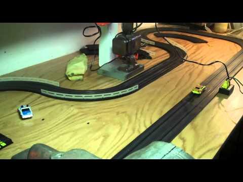 Aurora AFX slot car track