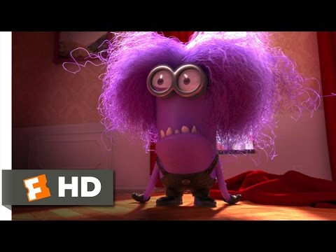 Despicable Me 2 (9/10) Movie CLIP - The Purple Minion Attacks (2013) HD (видео)