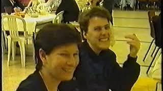 ערב יום שישי בחדר האוכל קיבוץ אשדות יעקב מאוחד 1992. הסרטון באדיבות ולדימיר אזבל(1 סרטונים)