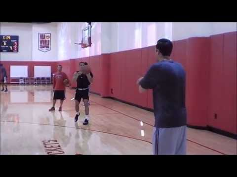 Houston Rockets Shooting Drills - 2014 Training Camp Day 2