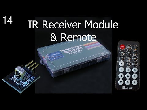 Lesson 14 IR Receiver Module and IR Remote