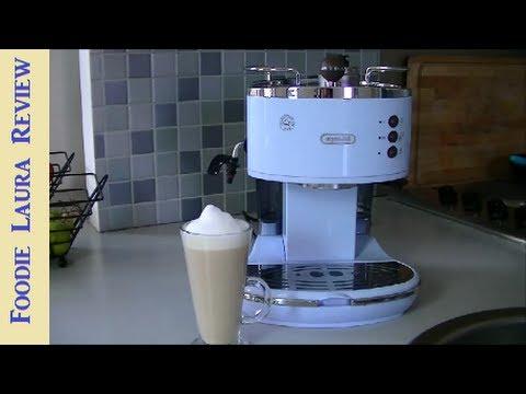 DeLonghi Vintage Icona ECO V310 Review & Latte Recipe I Foodie Laura