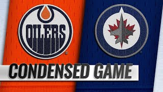 12/13/18 Condensed Game: Oilers @ Jets by NHL