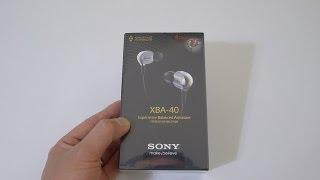 Video First Look: Sony XBA-40 in-ear headphones MP3, 3GP, MP4, WEBM, AVI, FLV Juli 2018