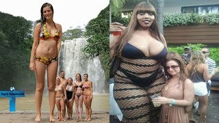 Video Top 10 Tallest Women in the World You Wouldn't Believe Actually Exist   World's Largest Women Ever MP3, 3GP, MP4, WEBM, AVI, FLV Desember 2018