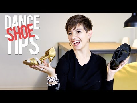 DANCE SHOE TIPS // What to look for when buying dance shoes