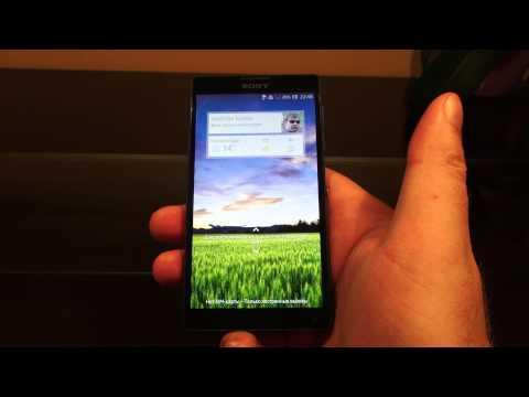 Sony Xperia Zl Android 4.2.2 Jelly Bean Видео