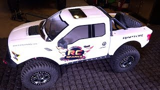 Video The KiNG of 8th scale TRAiL TRUCKS?! NEW FORD RAPTOR F150 4X4 from Traction Hobby   RC ADVENTURES MP3, 3GP, MP4, WEBM, AVI, FLV Oktober 2018