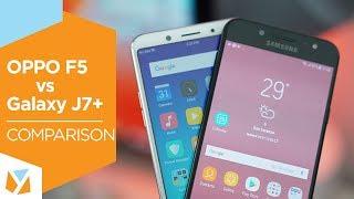 Video OPPO F5 vs. Samsung Galaxy J7+ (J7 Plus) Comparison Review MP3, 3GP, MP4, WEBM, AVI, FLV Februari 2018
