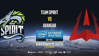 Team Spirit vs AVANGAR - IEM Katowice CIS Minor - map1 - de_overpass [Gromjkee & Tafa]