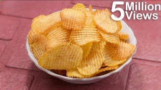 ক্রিস্পি পোটেটো চিপস   Instant Crispy Potato Chips   আলুর চিপস   Bangla Recipe