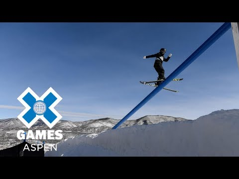 Jennie Lee Burmansson wins Women's Ski Slopestyle bronze | X Games Aspen 2018 (видео)