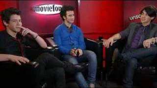Jonas Brothers Moviefone Unscripted Complete Interview