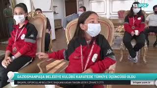 Türkiye 3. Sü Gaziosmanpaşalı Karateciler Başkan Usta'yı Ziyaret Etti - Trt Spor 2