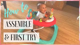 Video Baby Walker: How To Assemble Bright Starts Walk-A-Bout Walker ( THIS YEAR ) MP3, 3GP, MP4, WEBM, AVI, FLV Juni 2019