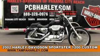 5. Used 2002 Harley Davidson XL1200C Sportster 1200 Custom for sale Review Specs