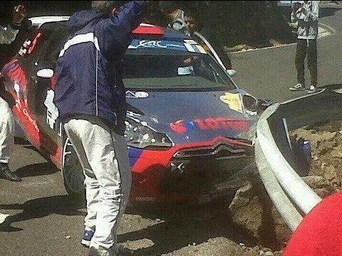 Islas Canarias Kubica CRASH!!!