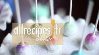 Cakepops à la vanille