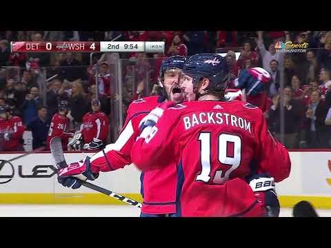 Video: Detroit Red Wings vs Washington Capitals | NHL | DEC-11-2018 | 20:00 EST
