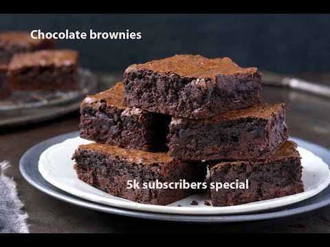3 Ingredients chocolate brownie/Very easy recipe, any one can try/No fail recipe