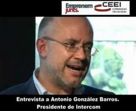 """Antonio González Barros: """"Lo fundamental de cara a emprender es hacer lo que te apasiona""""."""