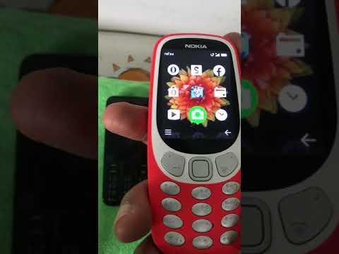 Nokia 3310 vs Nokia 208 vs Samsung Hero (видео)