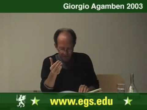 Giorgio Agamben. The State of Exception. Der Ausnahmezustand. 2003 7/7