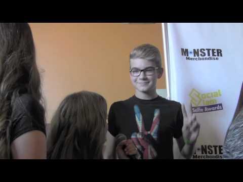 Devin Hayes Interview at Social Slam Selfie Awards