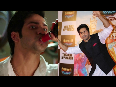 Varun Dhawan Consumes A Lot Of Alcohol For The Character Of Badrinath