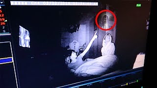 I recorded myself sleeping at my haunted house & caught this on camera.. (REAL GHOST ACTIVITY)