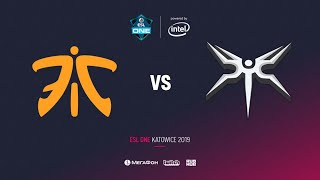Fnatic vs Mineski, ESL One Katowice 2019, bo3, game 3 [Mila & Adekvat]