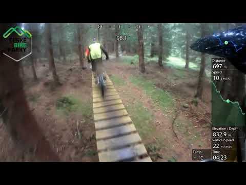 Bikepark Kopřivná gravity line 2017