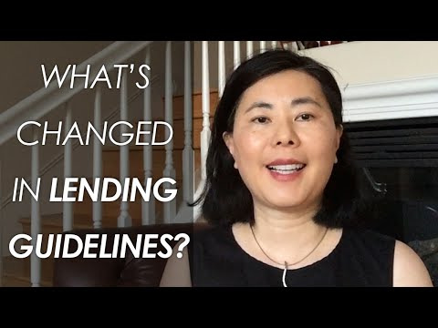 Recent Changes in Lending Guidelines