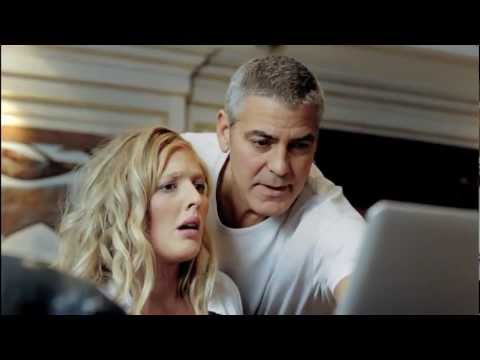 Image of DnB NOR Clooney ad  video clip