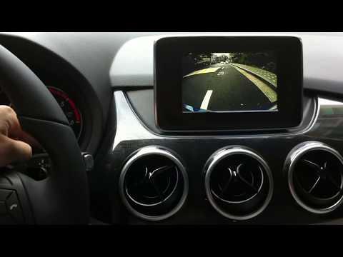 Mercedes-benz B-Class interface