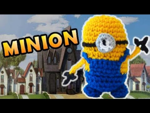 Crochet Minion Stuffed Toy Pattern - Despicable Me!