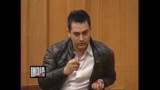 Aamir Khan ! 3 Idiots Movie ! Chatur Ramalingan ! Rajat Sharma