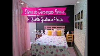 Olá gente linda! Hoje mostro para vocês dicas para decorar o quarto de casal gastando pouco, espero que gostem das dicas.COMO PINTAR UMA PAREDE? https://www.youtube.com/watch?v=stJ-RAXlpdg&t=2s#RAINHASDOLAR  DIY: QUADRO DECORATIVO BBB https://www.youtube.com/watch?v=NAWcTHKBi1I&t=256sDIY: CABECEIRA PARA CAMA SUPER FÁCIL E RÁPIDO https://www.youtube.com/watch?v=jfENQ9-sHrYArmário para Cozinha Feito com Caixote de Feira https://www.youtube.com/watch?v=r8mfDfTGniIINSCREVA-SE NO CANAL E VENHA FAZER PARTE DESSA FAMILIA:❤️❤️❤️ ME SIGA TAMBÉM NAS REDES SOCIAIS ❤️❤️❤️:Blog: http://dycasdacarla.blogspot.com.br/ Instagram: https://www.instagram.com/dycasdacarla/FanPage: https://www.facebook.com/bycarlaoliveira/?ref=aymt_homepage_panelPARA CONTATO/PARCERIAS:carlafernandoliveira@gmail.comMÚSICAS FREE: YouTube