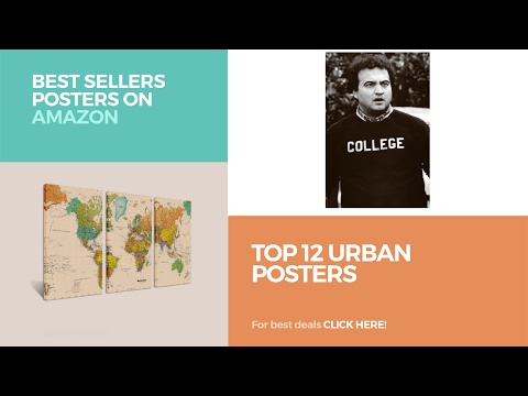Top 12 Urban Posters // Best Sellers Posters On Amazon