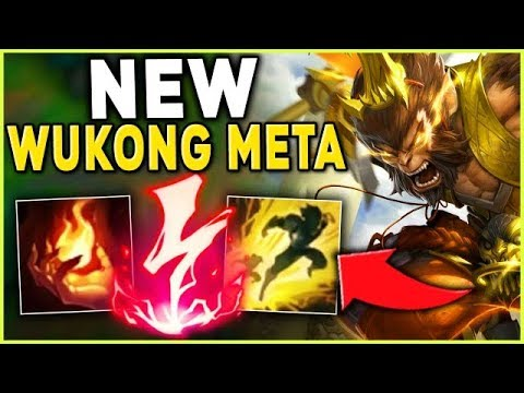 *NEW WUKONG META* RANK 1 WUKONG CARRIES CHALLENGER (IGNITE-KONG) - League of Legends