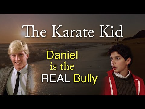 The Karate Kid Daniel is the REAL Bully nbsp Watch this