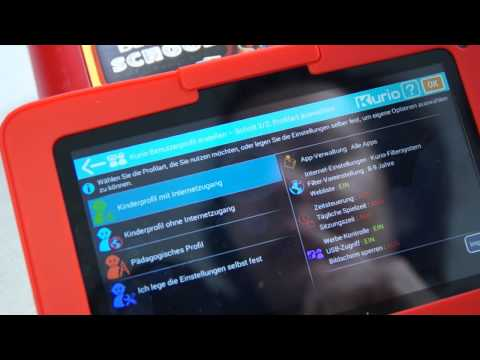 Kinder Tablet Kurio Tab 7 Motion TEST deutsch I KatisWeltTV