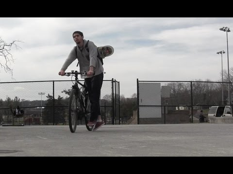 Bike Ride Skate Session | Greeneville, TN Skate Park